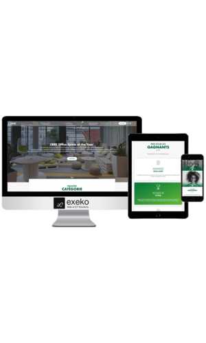 Site web de CBRE Best Office Space